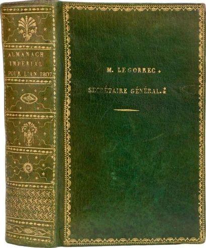 ALMANACH Impérial, pour l'an M.DCCC. VII,...