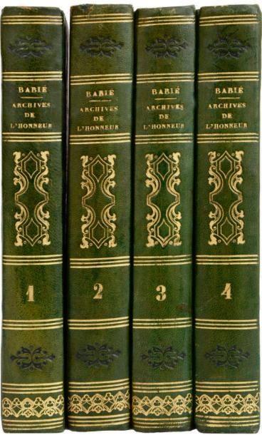 BABIE DE BERCENAY (F.) et GRASSET-SAINTSAUVEUR (J.)