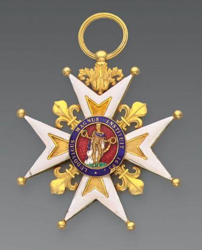Bijou de grand croix de l'ordre de Saint-Louis...