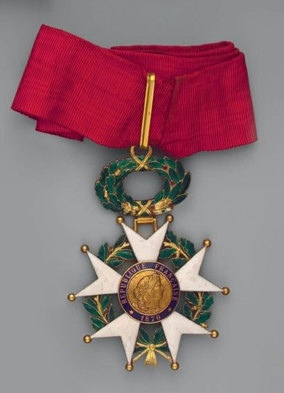 Croix de commandeur de l'ordre de la Légion...