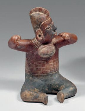 Chaman, culture Colima Mexique occidental...