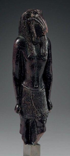 Grande amulette représentant le dieu Thot...