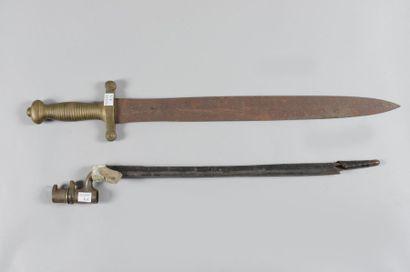 Un glaive d'infanterie modèle 1831, sans...