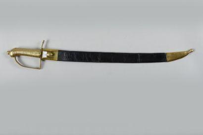 Briquet d'infanterie modèle 1767, avec fourreau...