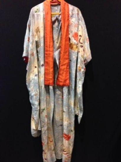 Kimono Hori, Japon, début XXe siècle. Gaze...