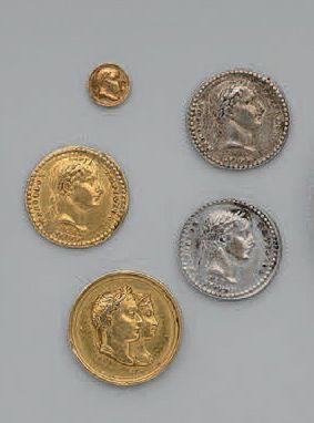 Cinq petites médailles: trois faites à l'occasion...
