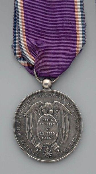 Médaille du 2e type de la Société philanthropique...