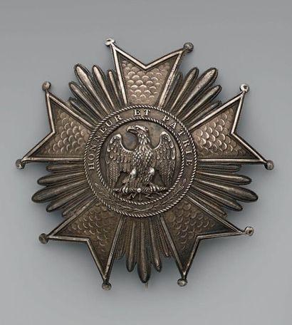 Plaque de grand officier de l'ordre de la...