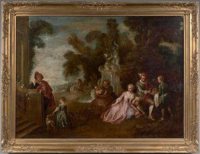 Ecole FRANCAISE du XVIIIème siècle, suiveur de Jean Baptiste PATER
