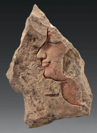 Fragment de bas-relief ou de modèle de sculpteur...