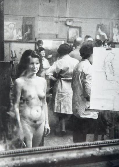 Modèle de la Grande Chaumière, 1964 Tirage...