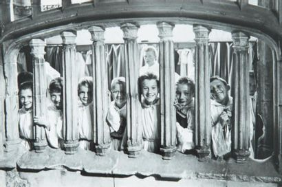 Enfants de choeur, Cathédrale de Rouen, 1960....