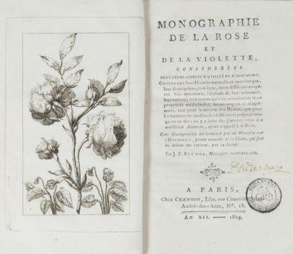 [BOTANIQUE]. BUC'HOZ (Pierre Joseph). Monographie...