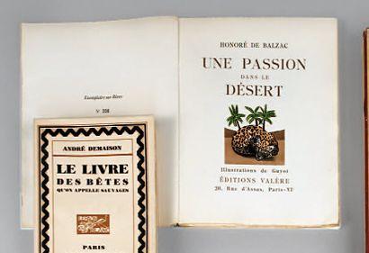 JOUVE Paul (1880-1973) & BALZAC (d'Honoré)