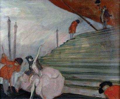 Jean Gabriel DOMERGUE (1889-1962)