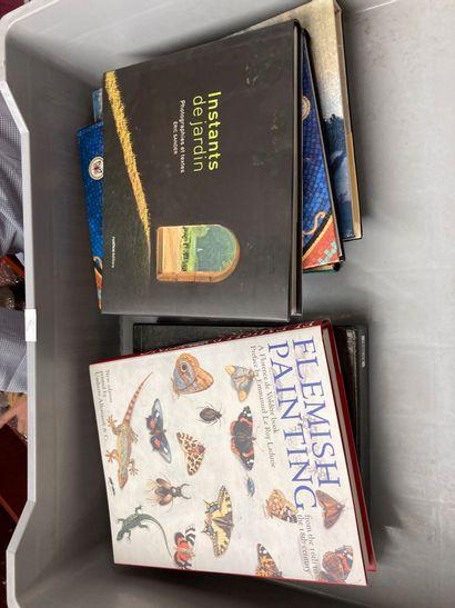 Lot de livres d'art : art japonais, Zao Wou...