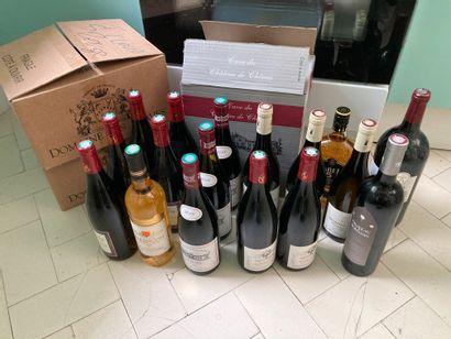 Fort lot de vin dont  Domaine Monin 2015...