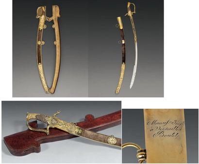 Magnifique sabre, attribué à Louis Napoléon...