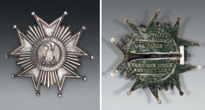 Plaque de grand aigle de l'ordre de la Légion...