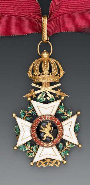 Croix de commandeur, modèle de la création,...