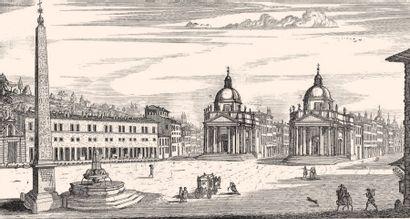 * [ARCHITECTURE]. FALDA (Gio. Battista). - Il Nvovo Teatro della fabriche, et edificii,...