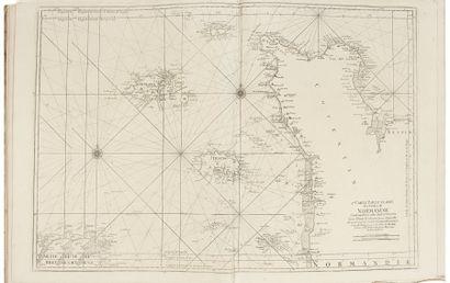 [ATLAS - BELLIN (Jacques Nicolas)]. Le Neptune françois [ou Recueil des cartes marines...