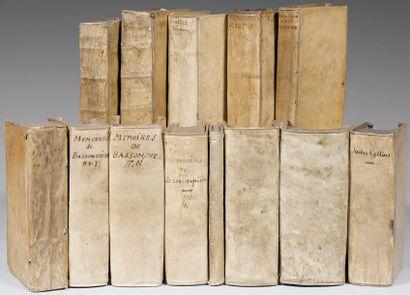 [SALLUSTE]. C. Sallvstivs Crispvs, cum veterum historicorum fragmentis. Lugduni Batavorum...