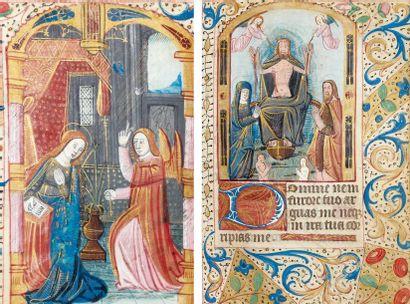[HEURES MANUSCRITES - PARIS]. Livre d'heures à l'usage du diocèse de Paris. Manuscrit...
