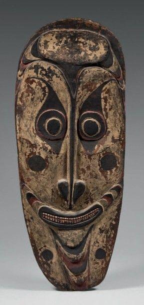 IATMUL (Nouvelle-Guinée) Grand masque de...