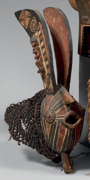 NUNA (Burkina-Faso) Masque animalier à la...