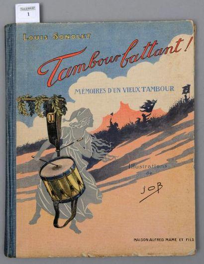 Louis Sonolet, illustrations de JOB: Tambour...