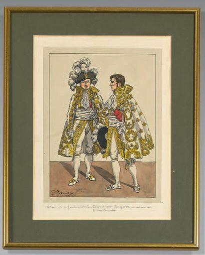 La famille impériale, Joseph et Louis Bonaparte...