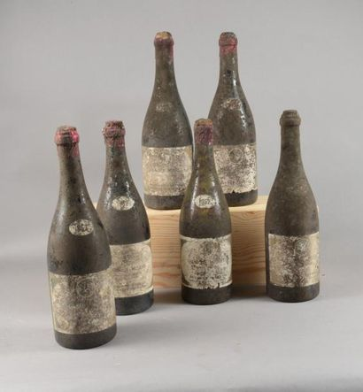 6 bouteilles CHAMBOLLE-MUSIGNY Besnard Fils...