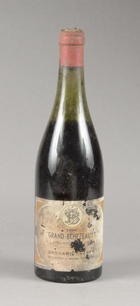 1 bouteille GRAND-ECHEZEAUX, Besnard Frères...