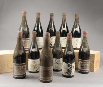 11 bouteilles ALOXE-CORTON Besnard Frères...