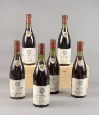 6 bouteilles MOREY-ST-DENIS «Clos Sorbet»,...