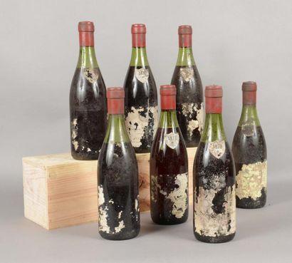 7 bouteilles SAVIGNY-LES-BEAUNE «Les Vergelesses»,...