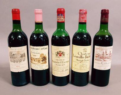 Ensemble de 5 bouteilles 1 bouteille CH....