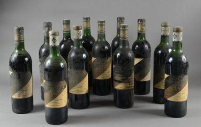 12 bouteilles CH. LA TOUR MARTILLAC, Graves...