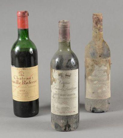 Ensemble de 3 bouteilles 1 bouteille CH....