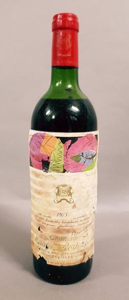 1 bouteille CH. MOUTON-ROTHSCHILD, 1° cru...