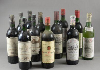 Ensemble de 12 bouteilles 1 bouteille CH....