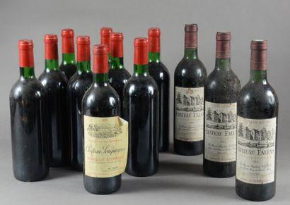 Ensemble de 12 bouteilles 9 bouteilles CH....