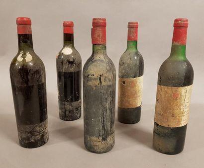 Ensemble de 5 bouteilles 2 bouteilles CH....