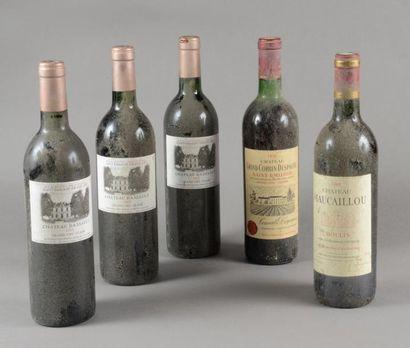 Ensemble de 5 bouteilles 3 bouteille CH....
