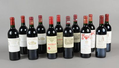 1 Caisse Primeurs comprenant 1995 cb 2 bouteilles...