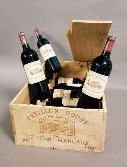 9 bouteilles PAVILLON ROUGE DU CH. MARGAUX,...