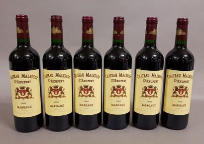 6 bouteilles CH. MALESCOT-SAINT-EXUPERY,...
