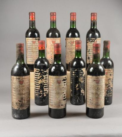 10 bouteilles CH. LA TOUR DU PIN FIGEAC,...