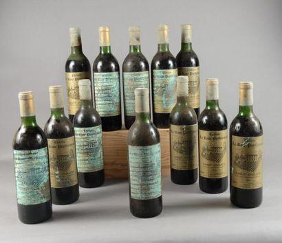 12 bouteilles CH. LA ROSE PUYBLANQUET, St-Emilion...